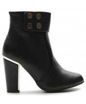 M10086 Side Zip Ankle Boots