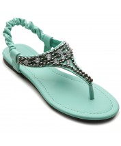 M1808 Crystal Beads Sandals