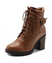TWB0013 Lace Up Ankle Boots