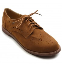 ZM2912 Lace Up Casual Oxfords