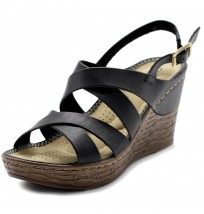 BN0004 Platform Wedge Heel Sandals