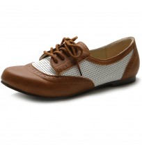 M1840 Breathable Lace Up Oxfords