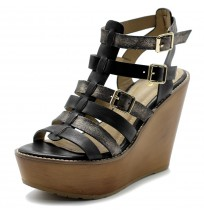 FT0002 Gladiator Strap Wedge Heel Sandals