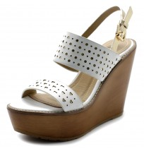 FT0005 Burnished Wedge Heel Sandals