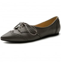M1818 Pointed Toe Oxfords