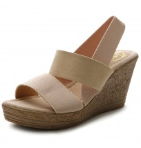 MH018 Strappy Wedge Sandals
