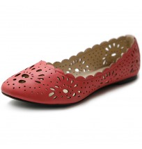 M1836 Cut-out Dress Flats