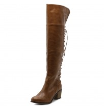 TWB0007 Lace-up Over The Knee Long Boots